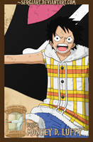 EPP - Drum: Luffy by SergiART