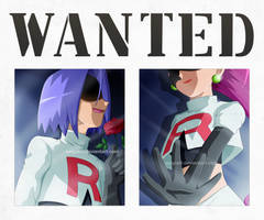 Pokemon - Team Rocket Wanted poster by SergiART