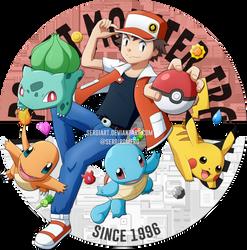Pokemon - 20th Anniversary by SergiART