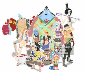 One Piece - Pirate life by SergiART