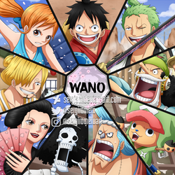 One Piece - Adventure in the land of the samurai by SergiART