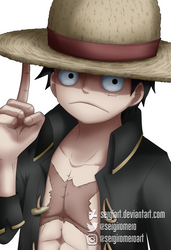 Luffy by SergiART