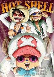 One Piece Film Gold - Hot Shell winners by SergiART