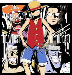 One Piece - The Worst of the East by SergiART