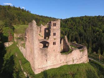 Schauenburg castle by duncan-blues