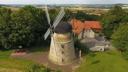 Rodenberg Windmill by duncan-blues