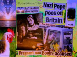 Pope eats baby? by KeswickPinhead