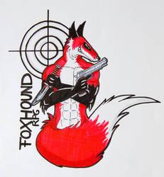 MGS Foxhound Logo by Greenyfoxy