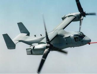 Bell-Boeing V-22 Osprey by TobdanHowelleski