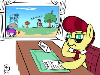Day on the job by Glim-Glam