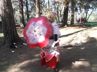 Sakura Maichirinu Len Kagamine by universalladyn