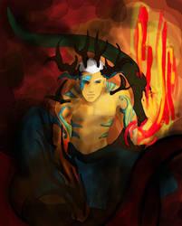 smoke'n fire by BlueSand-Tiger