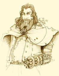 Les Pirates de l'Escroc-Griffe-Capitaine Bretelle by BlueSand-Tiger