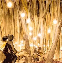 Elsayaen  wood by BlueSand-Tiger