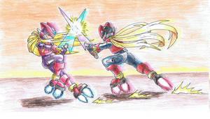 Zero vs Omega coloured by OmegaZeroZX