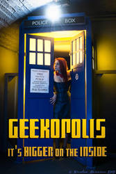 Geekopolis promotional poster by Kereska