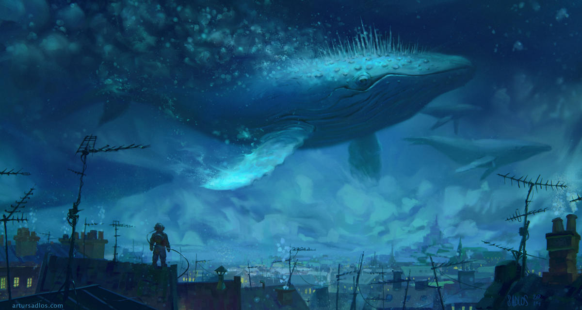 Whale Rider 2 by artursadlos