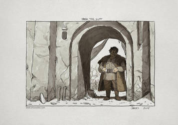 May The 4th Be With You #5 (Jabba The Hutt) by artursadlos