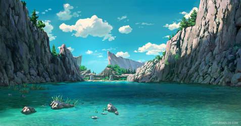 League Of Legends | Background Art 1 by artursadlos
