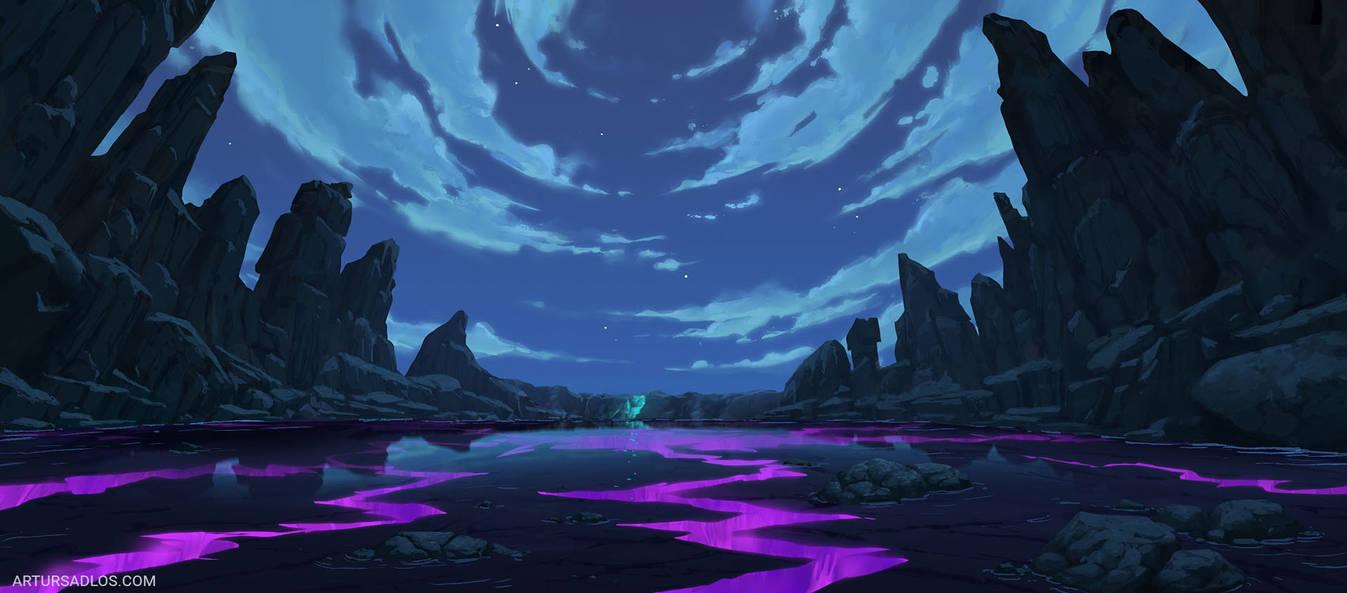 League Of Legends | Background Art 2 by artursadlos