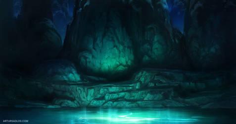 League Of Legends | Background Art 3 by artursadlos