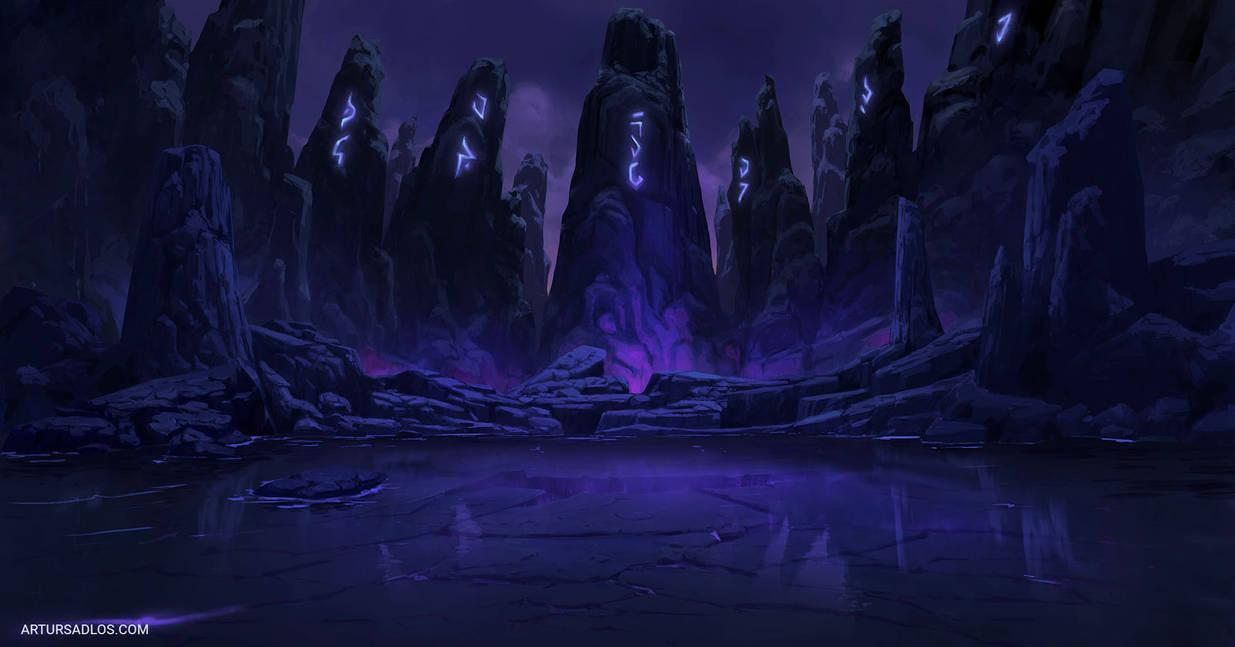 League Of Legends | Background Art 5 by artursadlos