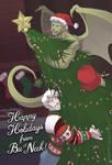 Bu and Nar's Christmas '17 by neekko