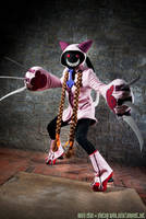 BlazBlue - Pink Taokaka Cosplay by AngelCostumes