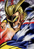 All Might by ACPuig