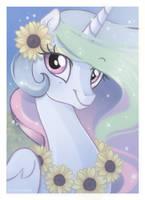 Princess of Sunflowers by LugiaAngel
