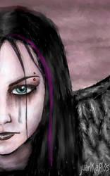 Dark Amy Lee by JuanKarlos