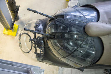 Lancaster Nose Section by Small-Brown-Dog