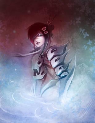 Flooded Samurai Chic by betablizk