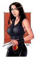 x-23 colored by Paulo Henrique by adagadegelo