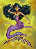 Wonder Mermaid by adagadegelo