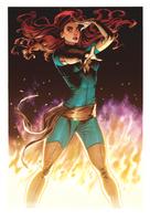 Jean Grey - Phoenix by adagadegelo