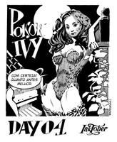 Inktober day 04 - Poison Ivy by adagadegelo