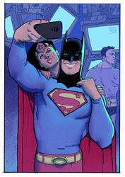 When even Superman want to be the Batman by adagadegelo