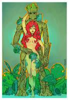 Poison Ivy powerfull by adagadegelo