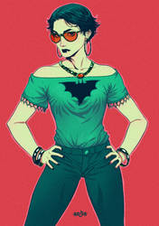 Selina Kyle - Catwoman by adagadegelo