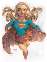 Supergirl by adagadegelo