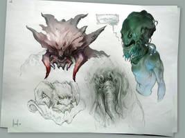 Doodles by Kashivan