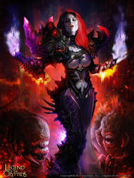 Wicked Goddess  'advanced' by Kashivan
