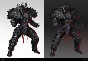 Brutal Knight by Kashivan
