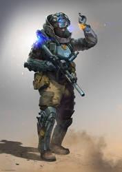 Soldier Concept by Kashivan