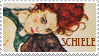 Egon Schiele stamp by rotten-vermillion