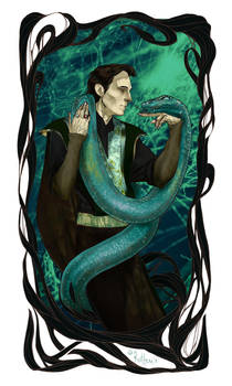 Tom Riddle by rotten-vermillion