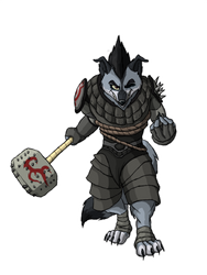 Wolf Boss by Stallivo
