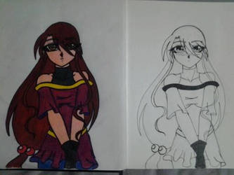 character design colored and original by genozyber-astaroth