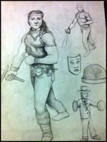 Sketches by Sanaloglan